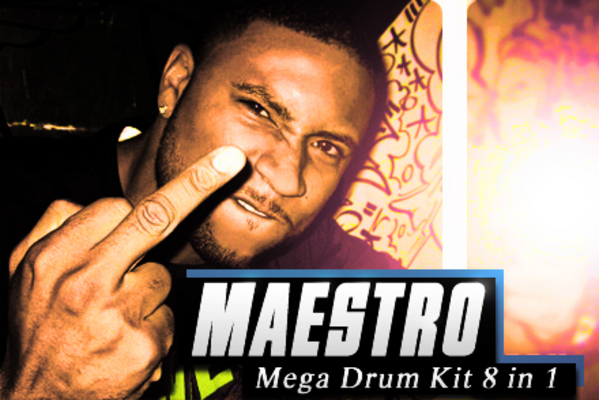 Product picture Maestro Mega Drum Kit ON SALE!!!!!