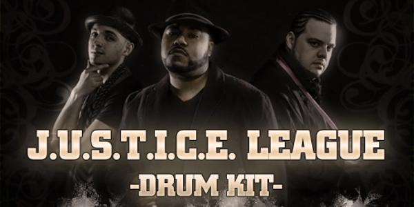 Product picture J.U.S.T.I.C.E. League Drum Kit